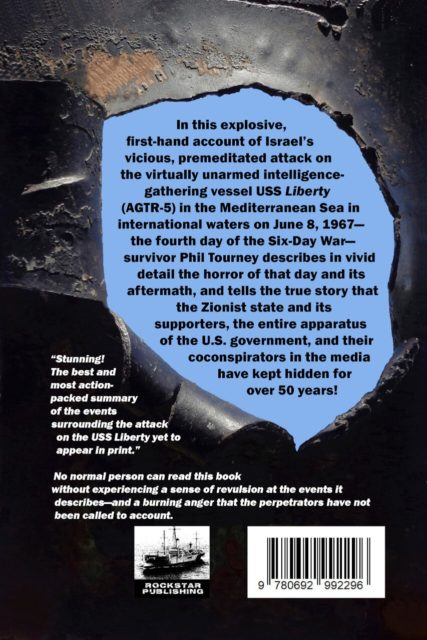 Holocaust on the High Seas Back Cover